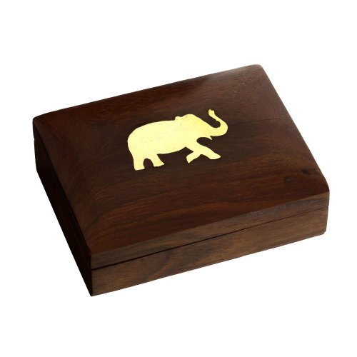 boite-en-bois-avec-elephant-en-laiton-coffret-a-bijoux