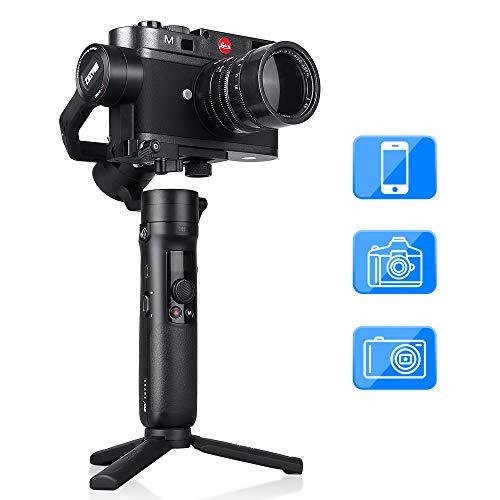 ZHIYUN Crane M2 Gimbal Stabilisator, Handheld Stabilisator 3-Achsen Stabilizer 720g Nutzlast für iPhone Android Samsung Huawei, Hero 7/6/5, Sony Canon Panasonic