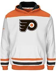 "Philadelphia Flyers Jeunesse Youth Majestic NHL ""Lil' Double Minor"" Hooded Sweatshirt"