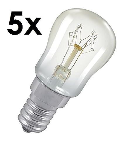5 x 15w Pygmy Light Bulb SES (E14) Appliance/Salt/Lava/Nightlight/Decorative/Signs