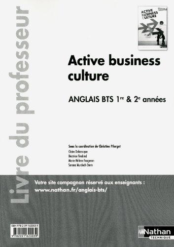 Active business culture - BTS 1re et 2e années > B2