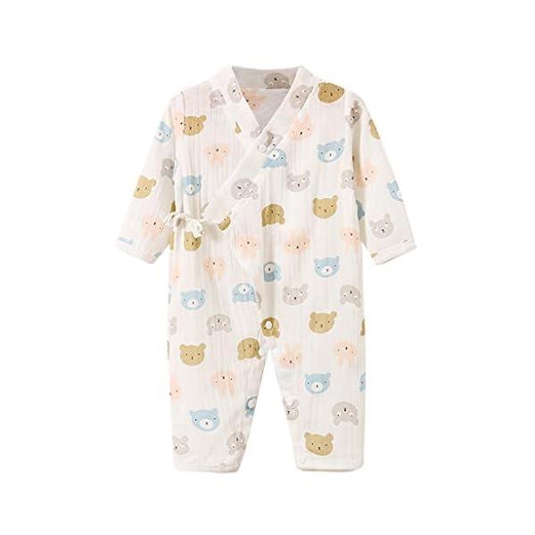 YWLINK Bebé ReciéN Nacido Mono De Dibujos Animados De Frutas De Manga Larga Pijama De Kimono De Gasa Mezcla De AlgodóN… 5