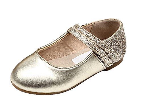 Bild von Insun Mädchen Glitzer Ballerinas Schuhe Leder Festliche Kinderschuhe Mary Jane Prinzessin Schuhe
