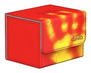 Ultimate Guard ugd10857No Sidewinder 100+ Standard Size chromia Skin Inferno-Rojo, Parte