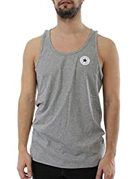 Converse Tank Men CORE LEFT CHEST 11862C Hellgrau 035