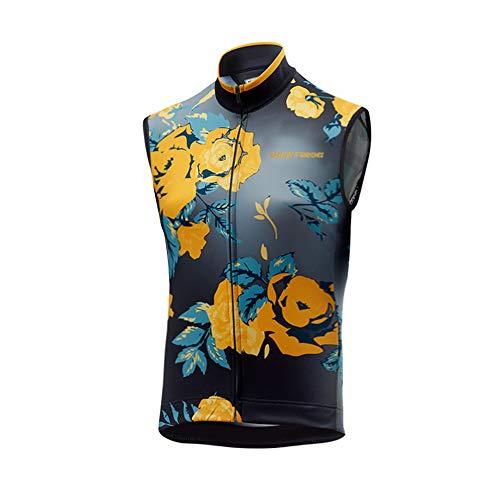 Uglyfrog+ 2019 Männer Frühling Ärmelloses Radtrikot Triathlon Vest Herren Sleeveless Radtrikot Westen - Fahrrad Imperial Trikot