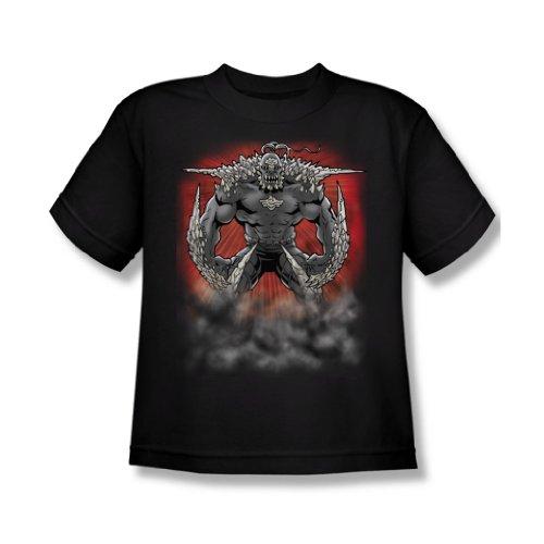 Superman-Doomsday polvere maglietta da ragazzo in Nero nero Large