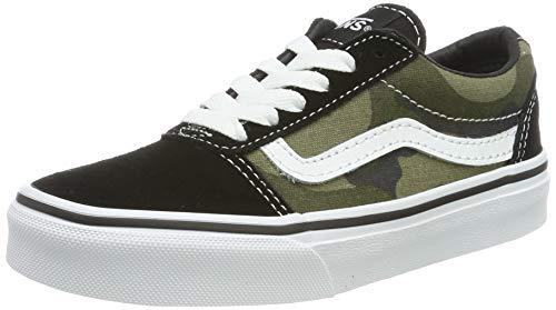 de/Canvas Sneaker, Mehrfarbig ((Camo) Multi/White U0j), 28 EU ()