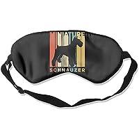 Vintage Style Miniature Schnauzer Silhouette 99% Eyeshade Blinders Sleeping Eye Patch Eye Mask Blindfold for Travel... preisvergleich bei billige-tabletten.eu