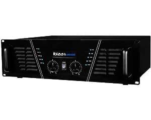 Amplificateur sono 2 x 1500 W Max AMP-2000-S