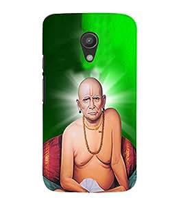 FUSON Shree Swami Samarth 3D Hard Polycarbonate Designer Back Case Cover for Motorola Moto G2 :: Motorola Moto G (2nd Gen)