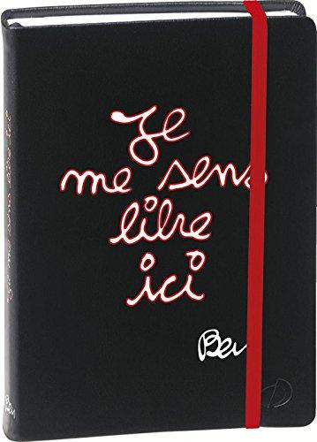 Quo Vadis - Ben - Textagenda - Agenda Scolaire Journalier 12x17 cm Noir - Année 2015-2016
