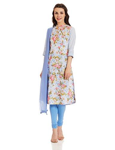 BIBA Women's A Line Salwar Suit (SKD5037_blue_34)