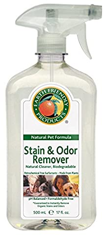 Earth Friendly Products Pet Stain and Odour Remover Lemon 500 ml (Pack of 3)