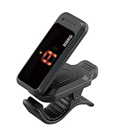 Korg Pitchclip - Clip-On Chromatic Tuner for Guitar & Bass