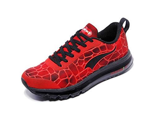 Dilize-OneMix, Scarpe da Corsa Unisex Adulti, Rosso (Red/Black), 42.5