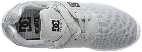 Dc Shoes - Heathrow, Sneakers, unisex Grigio (Grau (Light Grey LGR))
