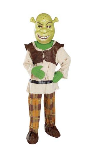 Rubies Kost-me 156308 Shrek mit Maske Deluxe Kinderkost-m Gr--e: Kleinkind ()