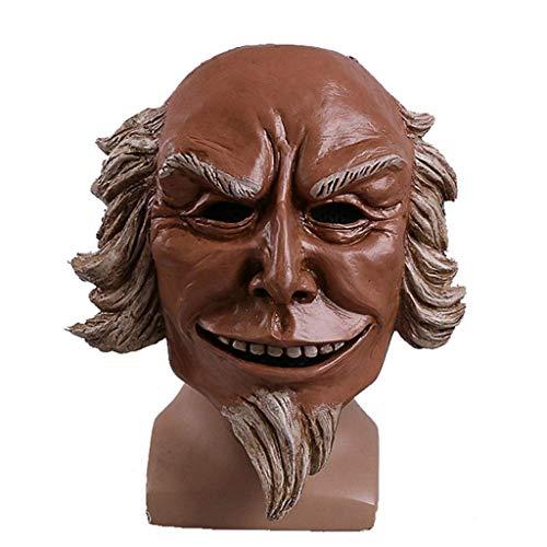 BESTHOO Mask- Uncle Sam Maske Human Clearance Programm hochwertige Harz Halloween Kostüm Ball Cosplay Requisiten (Color : -, Size : -)