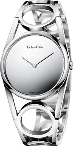Calvin Klein Orologio Analogico Quarzo da Donna con Cinturino in Acciaio Inox K5U2S148