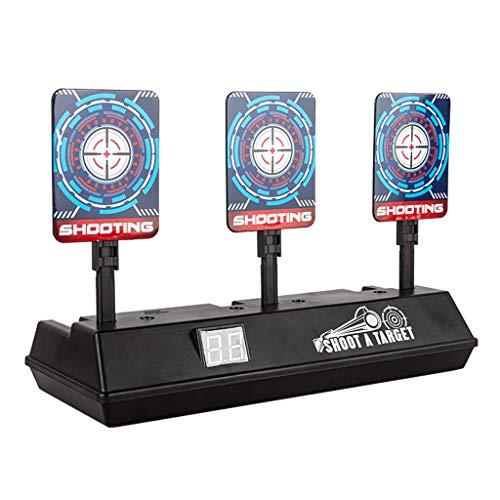 Jamicy  Elektronisches Scoring-Ziel für Nerf N-Strike Elite/Mega/Rival-Serie Kinderspielzeug, Auto-Reset Intelligentes Licht Soundeffekt Scoring-Ziel für Mega- und Rival-Serie