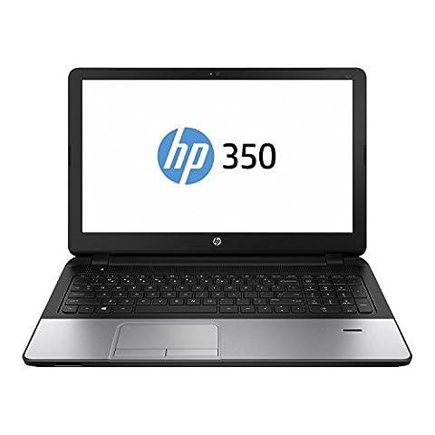 HP 350 G2 39,6cm (15,6 Zoll mattes LED Backlight Display) Notebook (Intel Core i3 5010U Dual Core 2x 2,1 GHz, 8GB RAM, 500GB S-ATA HDD, Intel HD Grafik 5500, HDMI, HD Webcam, USB 3.0, WLAN, Bluetooth, DVD-Brenner, Windows 7 Professional 64 Bit)