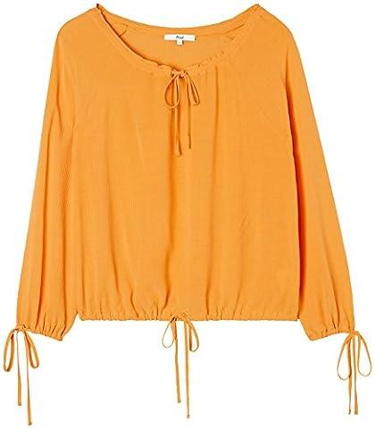 FIND Oversized Blouse Femme, Orange (Mango), 48 (Taille Fabricant: XXX-Large)
