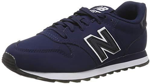 New Balance Damen 500 Sneaker, Blau Navy/White, 40 EU New Navy Schuhe