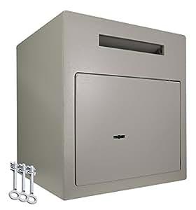 coffre fort bo te aux lettres coffres forts de d p t 3 cl s serrure cl s. Black Bedroom Furniture Sets. Home Design Ideas