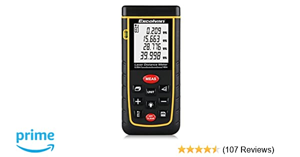 Kaleas Profi Laser Entfernungsmesser Ldm 500 60 : Excelvan® 40m laser entfernungsmesser entfernungsmessgerät distanz