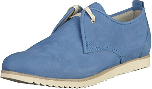 Marco Tozzi 23203, Scarpe Stringate Basse Oxford Donna Azzurro