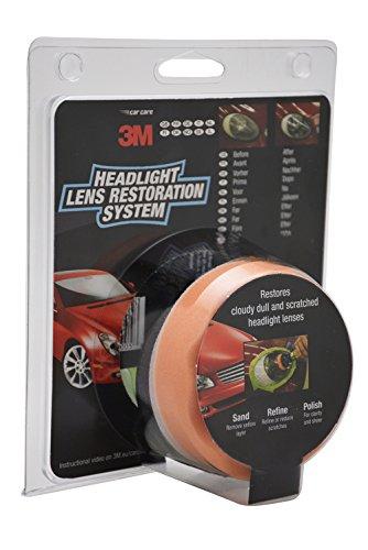 Le kit de rénovation d'optiques 3M pour des phares qui luisent - 41BUOD32BdL - Le kit de rénovation d'optiques 3M pour des phares qui luisent