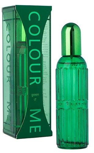 Couleur Me Vert Eau de Toilette en flacon Vaporisateur pour homme 90 ml
