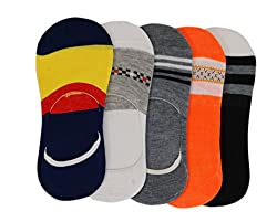 Assorted Loafer summer socks for men & woman pack of 5