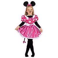 665689728aa6 Ciao Costume Carnevale per Bambini, Rosa, 8-10 anni 10798.8-10
