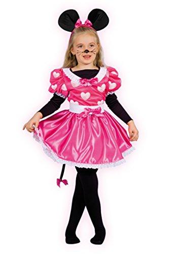 Ciao- costume carnevale per bambini, rosa, 8-10 anni, 10798.8-10