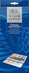 Winsor & Newton Cotman Half Pan Water Colour Studio Set