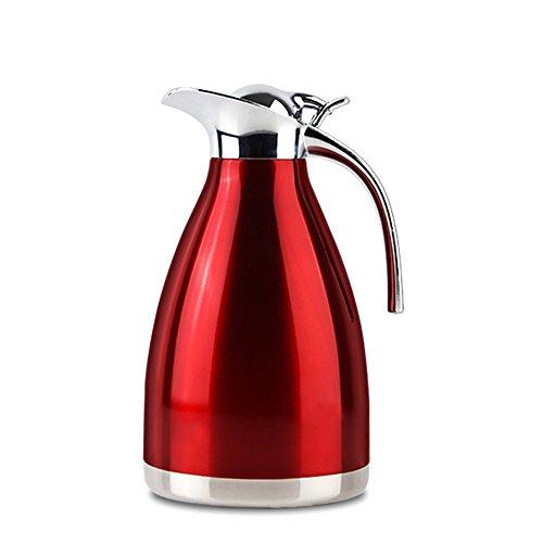 EgoEra Doppelwandiges Vakuum Tee Kaffee Edelstahl Isolierkanne/Kaffeekanne Edelstahl/Isolierung...