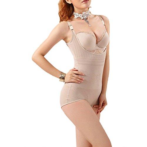Body Shaper BauchRotuzierender Taille Cincher Unterbrust Abnehmen Beige
