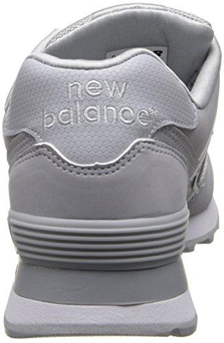 New Balance  Ml574gs, Herren Sneaker, grau - dunkelgrau - Größe: EU Dunkelgrau