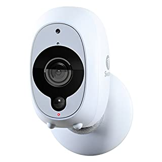 Swann Smart Home Wireless Indoor/Outdoor HD Security Camera Kit with Night Vision - White