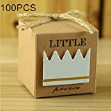 Liunghy Greeting cards, balloons, gift wrapping, party dec Sell well 100 PCS European Style Wedding Princess Pattern Sugar Box, Size: 5.3 * 5.3 * 5.3cm (Color : Color2)