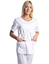 Bata casaca laboratorio sanitario ropa de trabajo