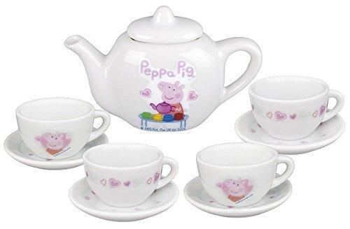 Peppa Pig - Juego de té de picnic (porcelana)
