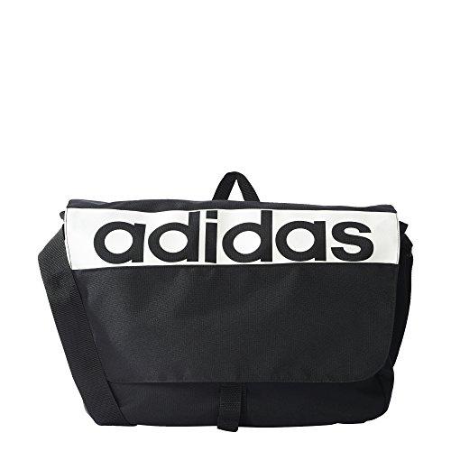 adidas LIN PER MESS S99972 Unisex Kinder Schultasche A4 Black/White