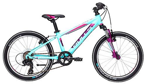 Kinder Fahrrad 20 Zoll hellblau - Bulls Bike Tokee - Shimano Kettenschaltung, Suntour Federgabel - Ständer Zoll 20 Fahrrad Kinder