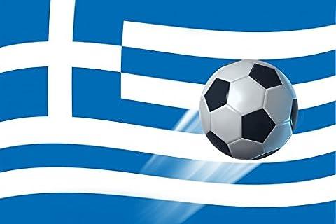 1art1 93967 Griechenland - Flaggen Der Welt XXL Poster 120