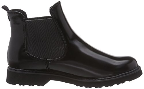Marco Tozzi 25412 Damen Chelsea Boots Schwarz (Black Brush 050)
