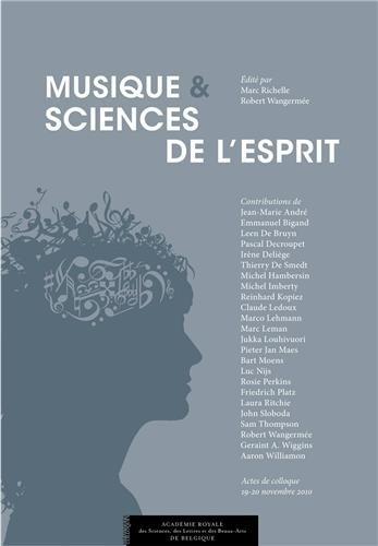 Musique et sciences de l'esprit : Actes de colloques