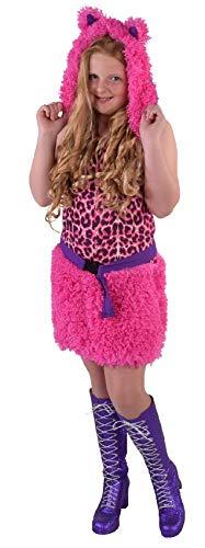 Leopard Kostüm Kitty - M216020-164 pink Kinder Mädchen Leoparden Kostüm Kitty Katze Katzen Kleid Gr.164